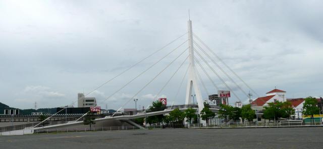 白鳥歩道橋1