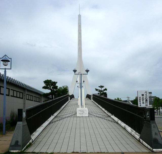 白鳥歩道橋3