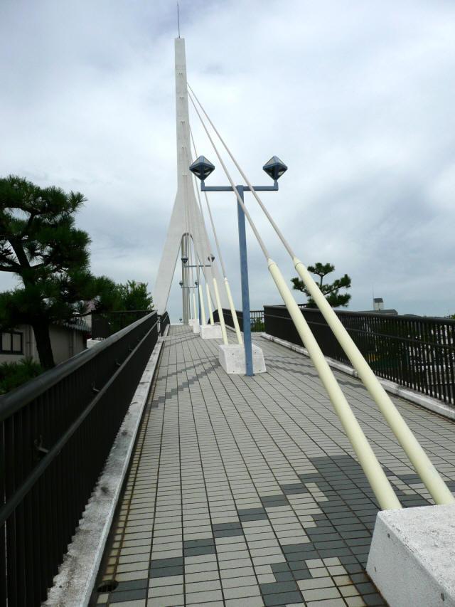 白鳥歩道橋4
