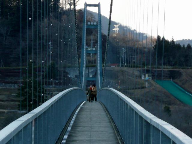 水の郷大つり橋3