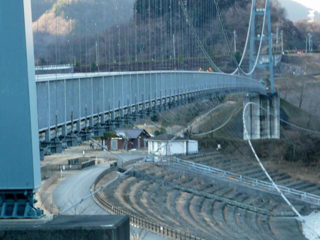 水の郷大つり橋4