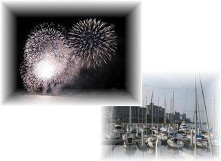 2008年8月3日洲本の花火