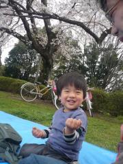 野川公園にて