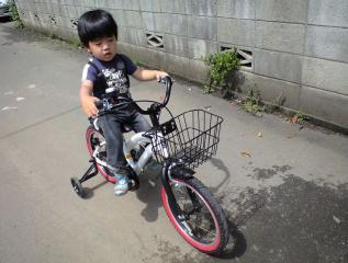 自転車乗れるよ