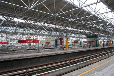 北投の駅です。