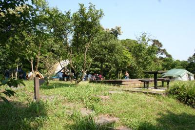 キャンプ場です。