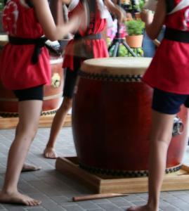和太鼓。かっこよかったー。