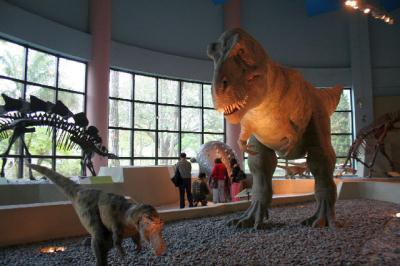 でた。恐竜。