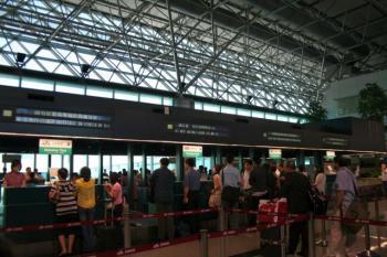 JALで帰国ね。