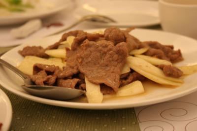 牛肉とマコモ竹