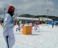 雪合戦試合開始