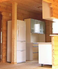 冷蔵庫&食器棚