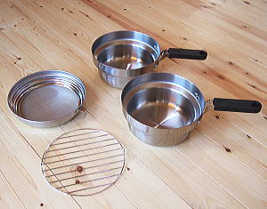 ツイン天ぷら鍋2