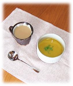 カフェオレ&スープ