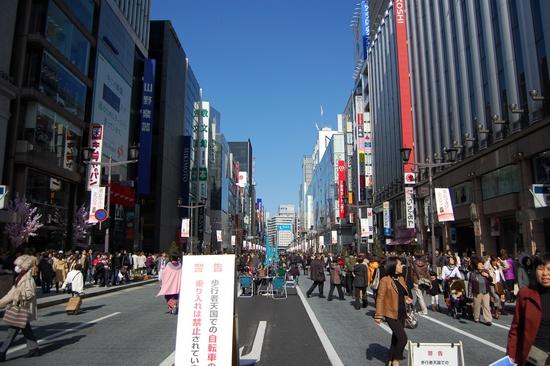 03銀座歩行者