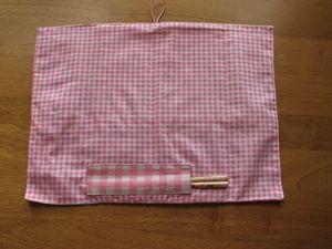 ランチョンマット&はし袋畳み方 1