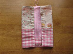ランチョンマット&はし袋畳み方 2