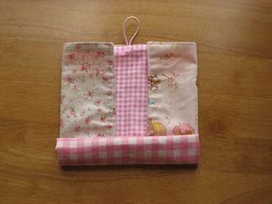 ランチョンマット&はし袋畳み方 3