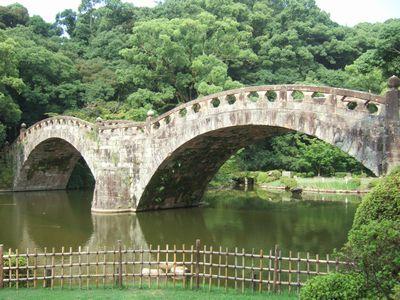 移築前は近くの本明川に架けられていた。