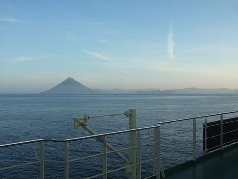 日本百名山の1つ、開聞岳。