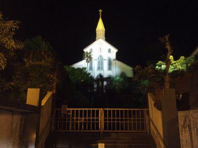 1864年に建設された、現存するものでは国内最古のキリスト教建築物。