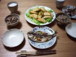サモサ・鯵の干物・ひじきご飯