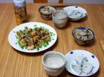 鰹の南蛮漬け・胡麻豆腐・ひじきごはん