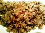 古代米の高菜焼き飯