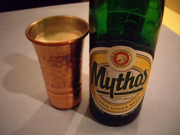 Greece beer Mythos