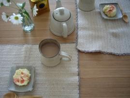 ミルクティでお茶の時間