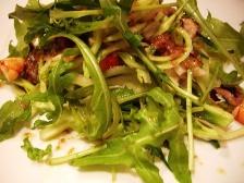 プンタレッラと魚介類のサラダ~アンチョビドレッシング