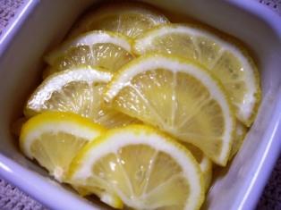檸檬のはちみつ漬け