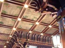 メインダイニング天井