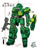 巨大人型機動兵器「ルングルド」