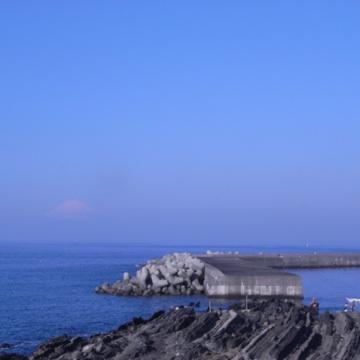 081025蜃気楼富士山