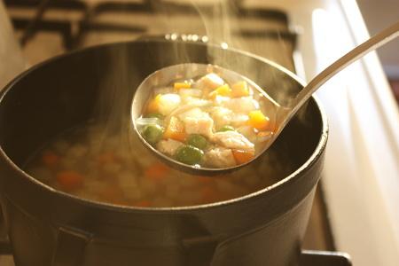 なぞのスープ