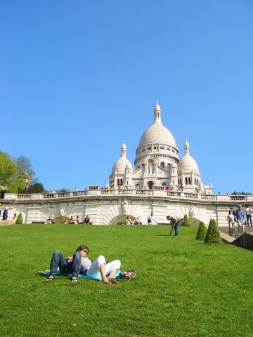 パリの憩いの場。