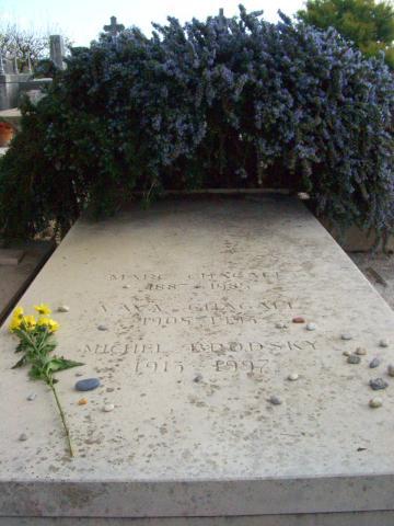 シャガールの墓