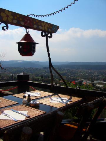 最高の眺めのレストラン!