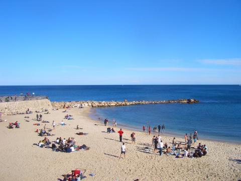 海水浴日和