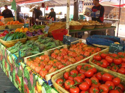 色鮮やかな野菜たち。
