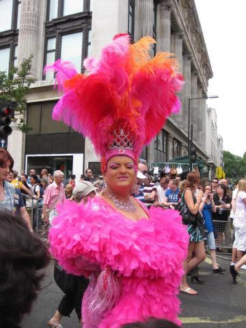 pride london pink
