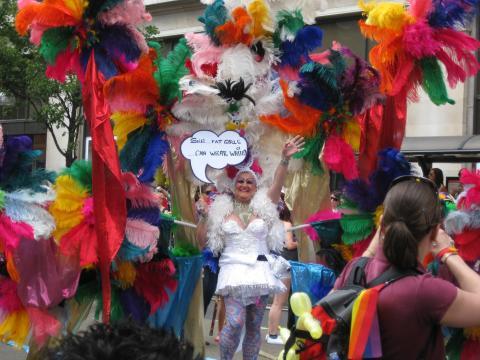 london pride samba
