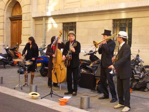 Nice Jazz band