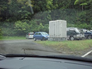 s02古寺鉱泉の駐車場