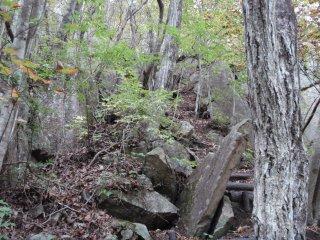 s08岩の急斜面