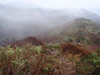 s07蛇ヶ岳への稜線2