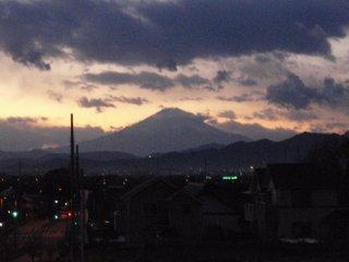 s夕焼け富士山1