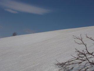 s08青空と雪面