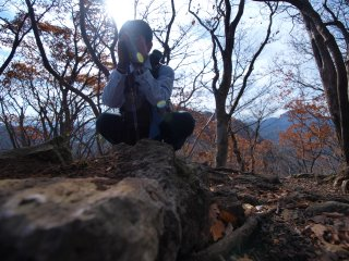 s05大倉山頂にて